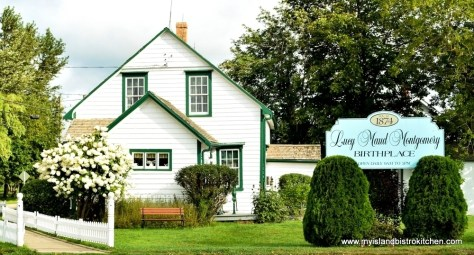 Birthplace of authoress Lucy Maud Montgomery, New London, PEI