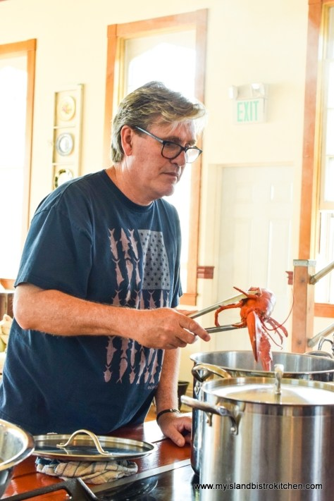 Derrick Hoare, Owner/Chef at The Table Culinary Studio in New London, PEI