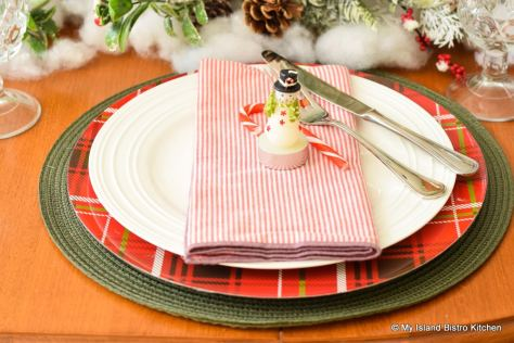 Christmas Placesetting