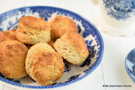 Biscuits in a Bowl