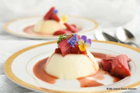Plated Molded Dessert