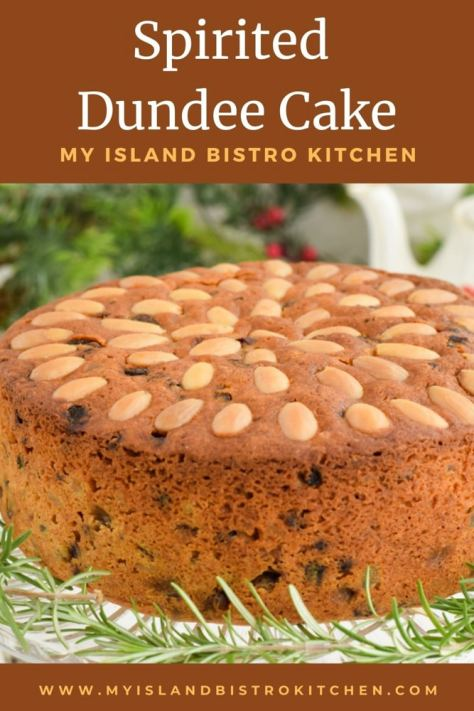 Almond-studded Dundee Cake