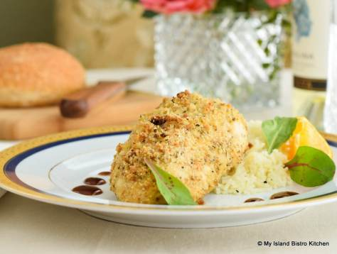 Breaded Stuffed Chicken Breast