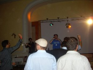 Performing at EUJS Summer University, 2009