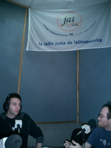Interview on Radio Jai of Buenos Aires, Argentina