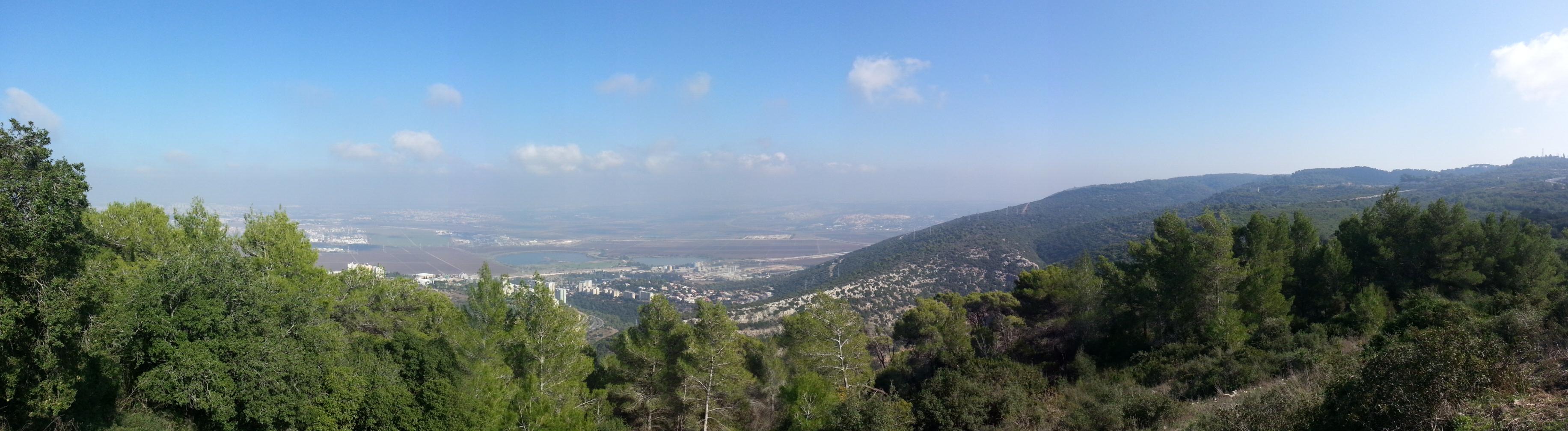 View over Akko Valley from Mitzpe HaMifratz