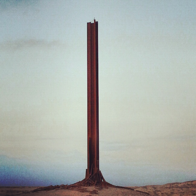 Monument to the workers of the Dead Sea Factories