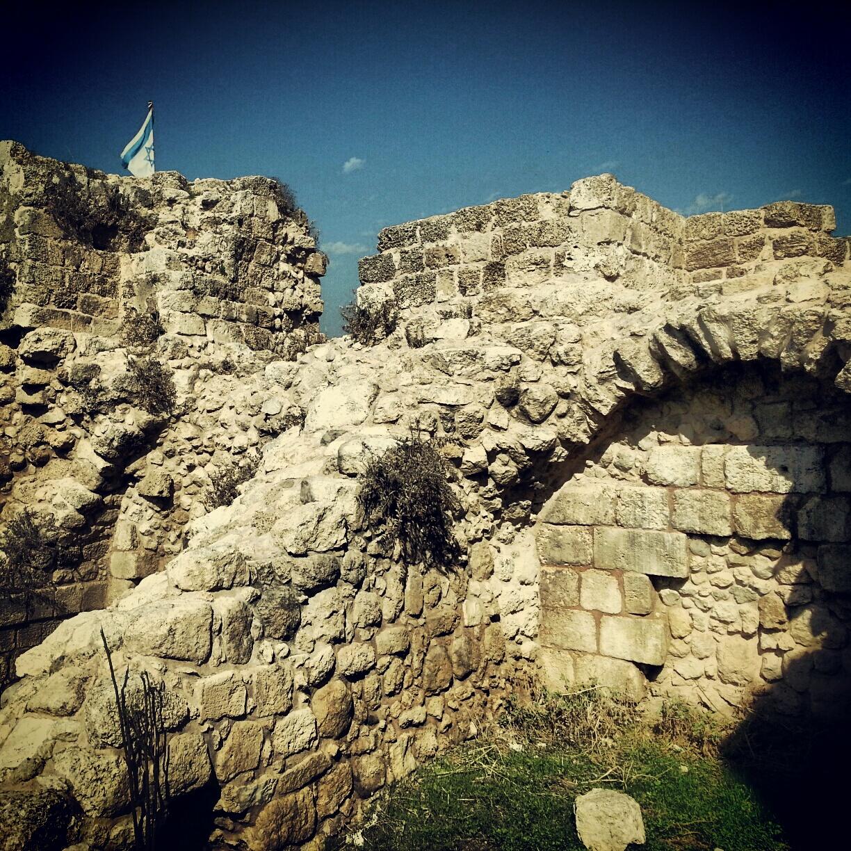 Crusader Fortress Ruins at Kakun
