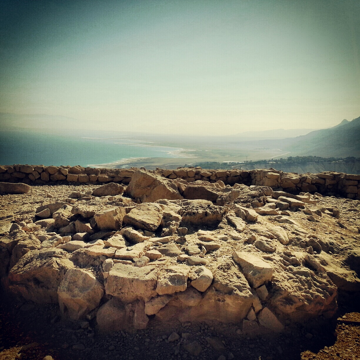 Chalcolithic period temple at Ein Gedi
