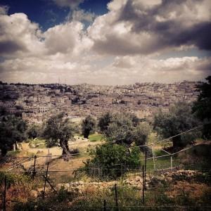 View over Hebron from Tel Rumeida