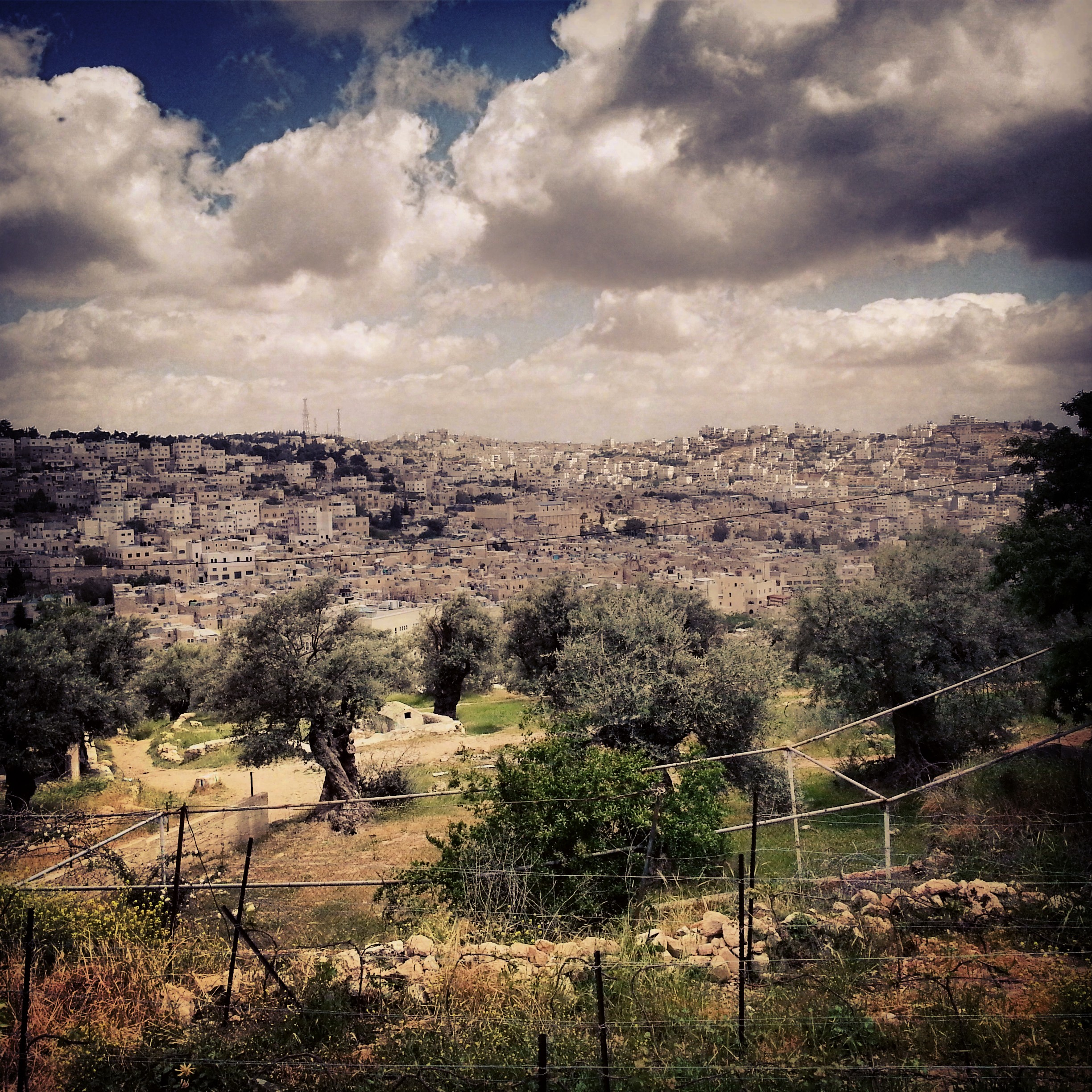 View over Hebron from Tel Rumeida