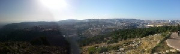 View over Nazareth from Mount Precipice