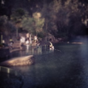 Baptism ceremony in the Jordan River at Yardenit