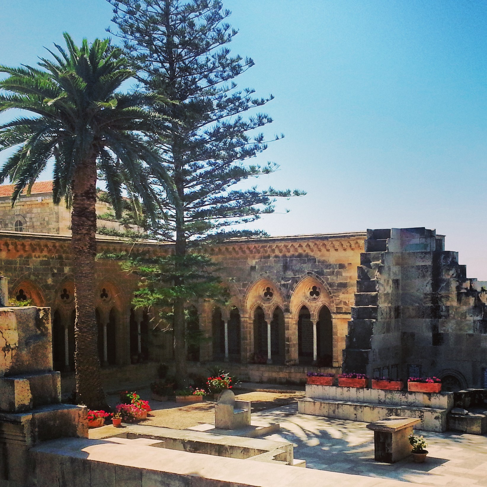 Church of the Pater Noster (Eleona) on the Mount of Olives