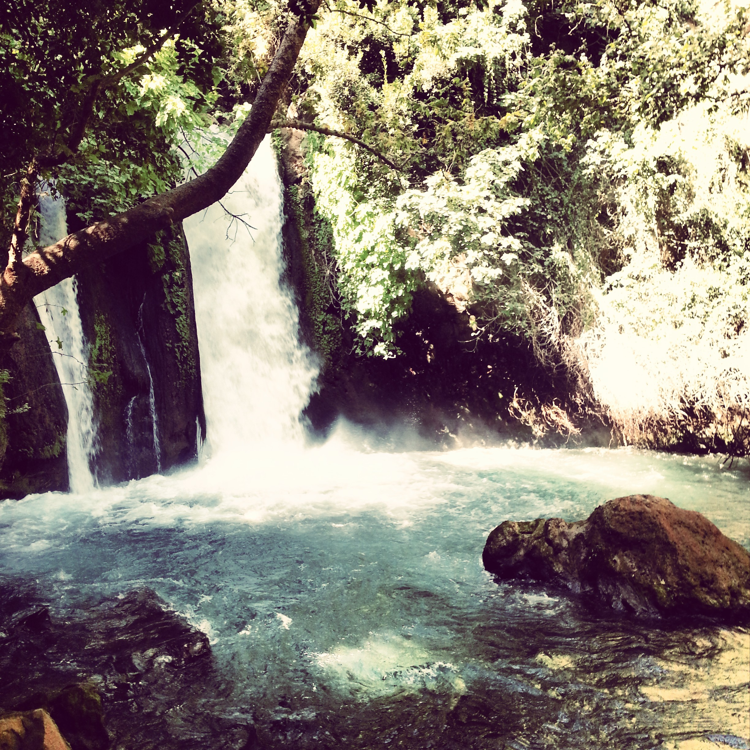 Waterfalls at Banias