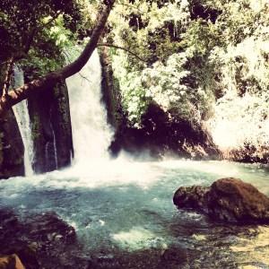 Waterfalls at Banias