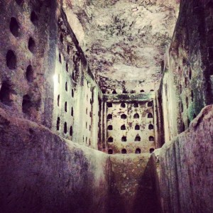 Underground columbarium at Tel Maresha