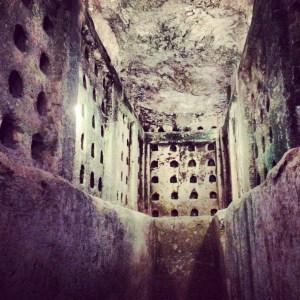 Underground columbarium at Tel Maresha