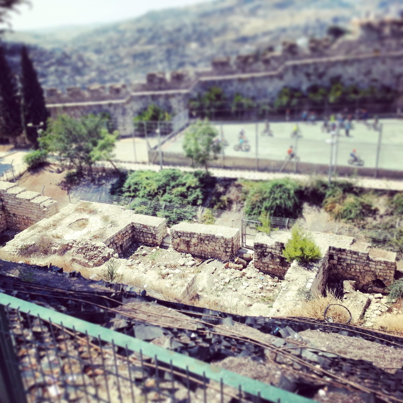 Ruins of the Crusader Nea Church
