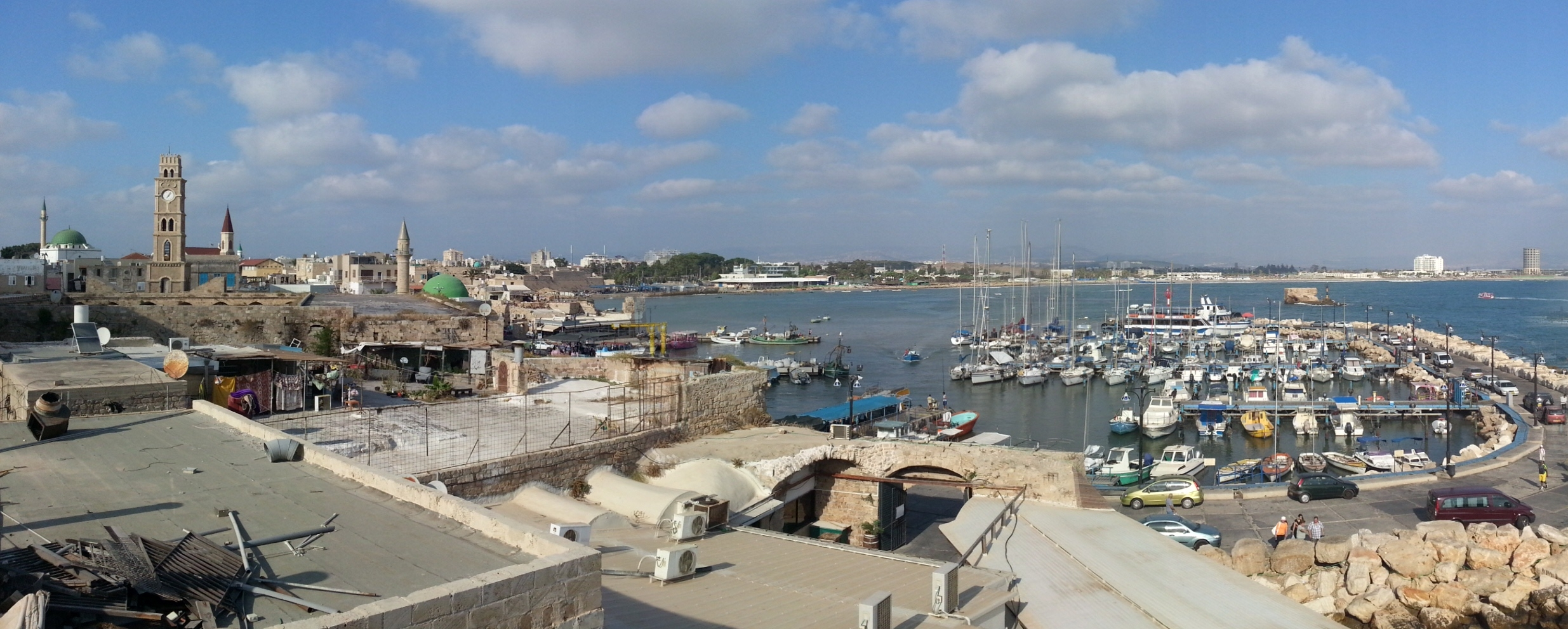 Bay of Akko from the Old City