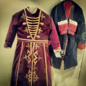 Traditional Circassian dress in Rihaniya