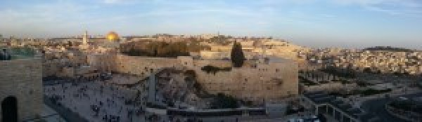 View over the Temple Mount & Western Wall