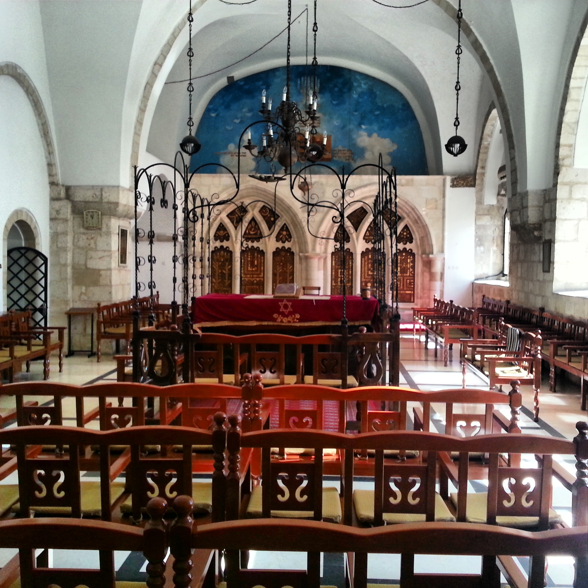 Yochanan ben Zakai Synagogue (part of the 'Four Sephardi Synagogues' complex)