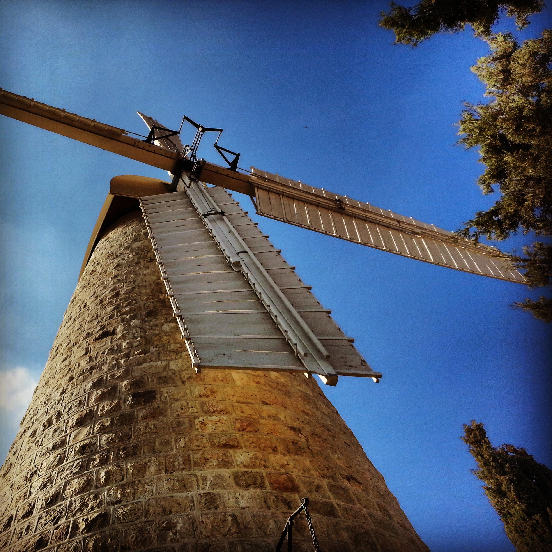 Montefiore Windmill in Mishkenot Sha'ananim