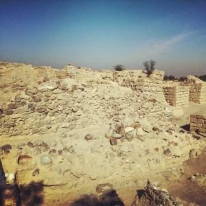 Ruins of an Israelite fortress at Ein Hatzeva / Ir Ovot