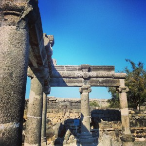 Ancient synagogue of Korazim