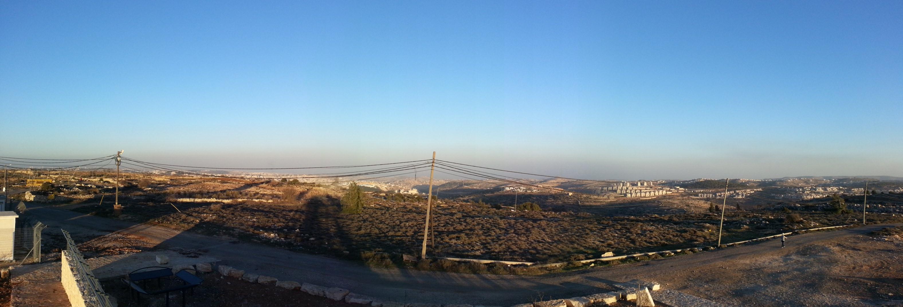 View from Mitzpe HaElef