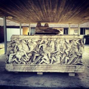 Stunning Roman sarcophagus in Ashkelon