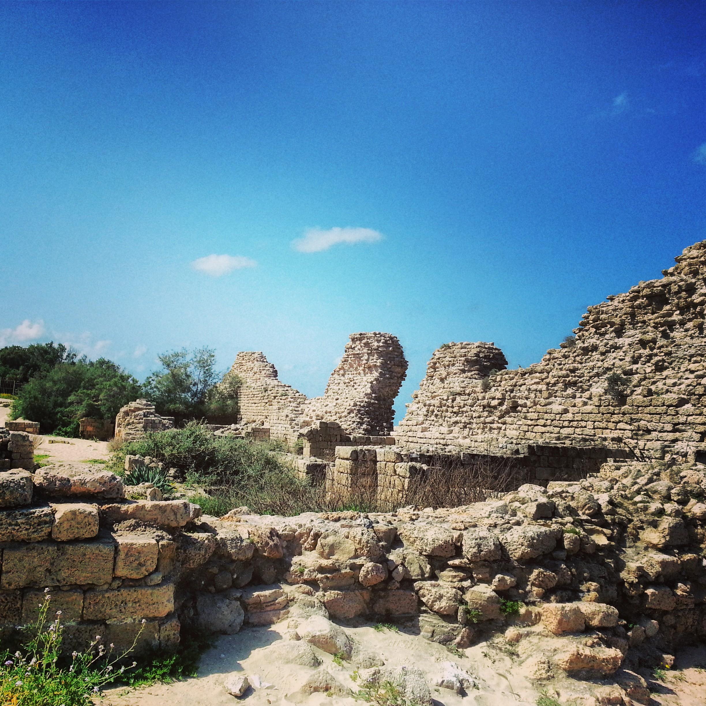 Ummayid fortress of Ashdod Yam