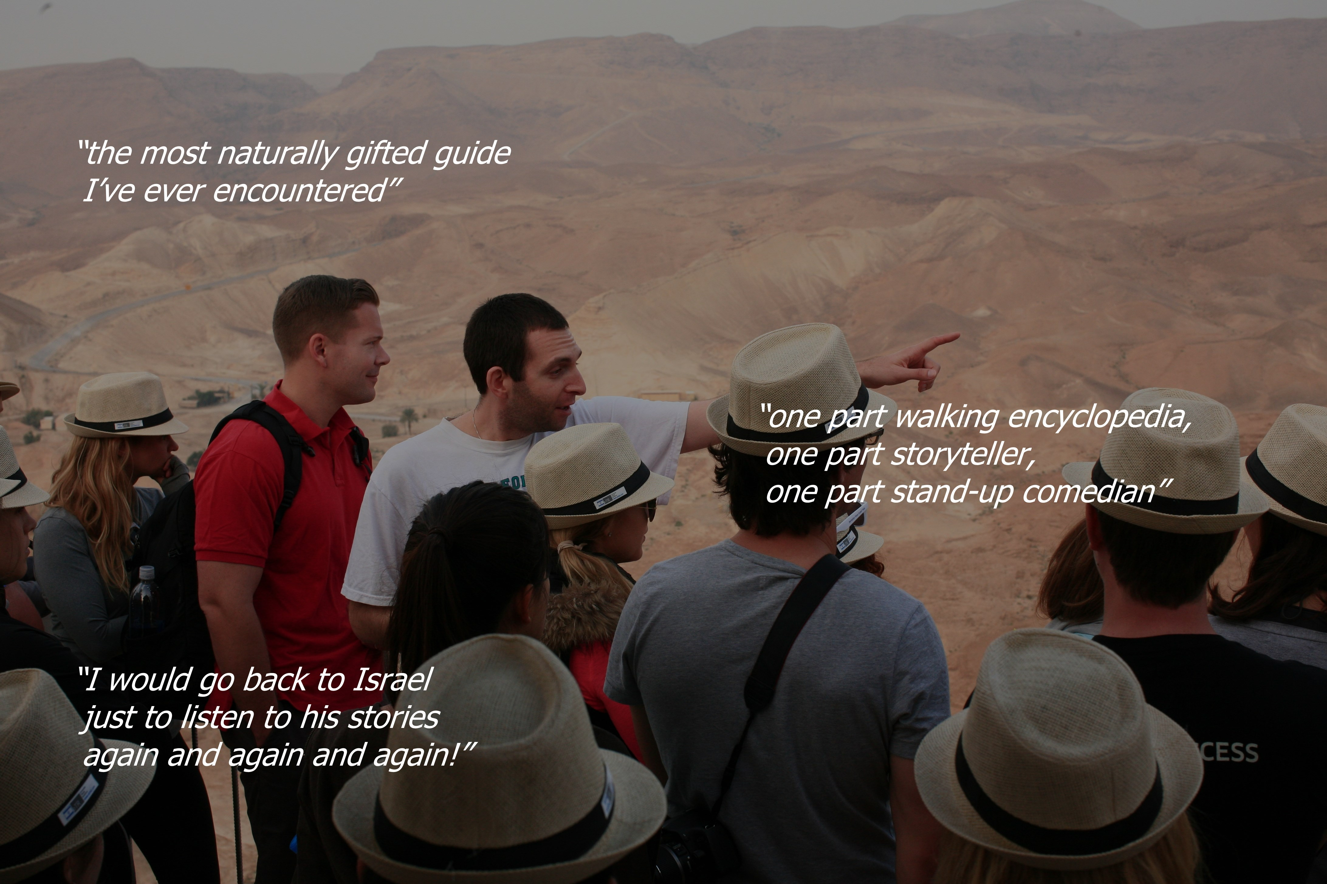 Samuel Green - Licensed Tour Guide in Israel