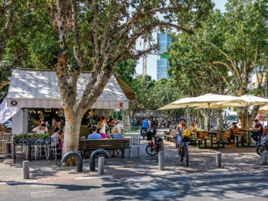Park scene Tel Aviv My Israel Wine Tours