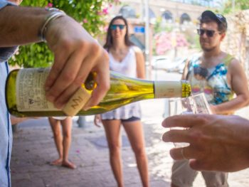 Cultural wine tasting tour in Jaffa copyright My Israel Wine Tours