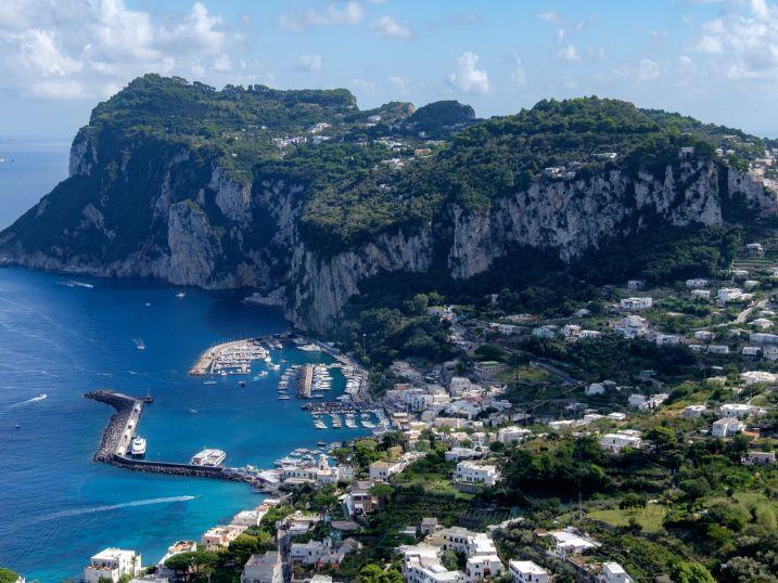 Marina Grande Port Capri Italy