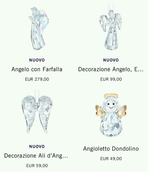 Statuette di cristallo Swarovski prezzi