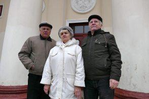 Онуфриева Нина Николаевна с коллегами после репетиции