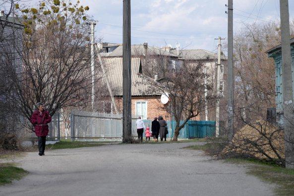 Продолжение пр. Ленина до переулка Фрунзе, г. Изюм
