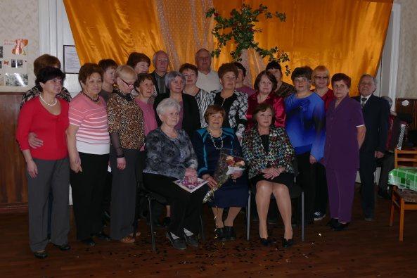 Празднование Юбилея Дьяченко М.А. в терцентре Изюма 6 апреля 2015 г.