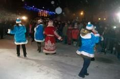 Новогодние гулянья в Изюме