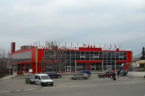 Вид от автовокзала Изюма