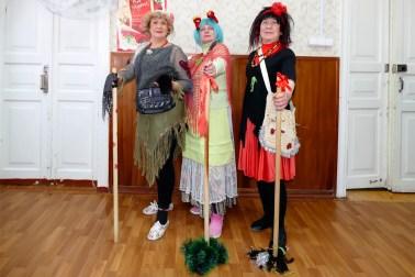 Тамара Сидоркина, Вера Корсун и Валентина Корчма
