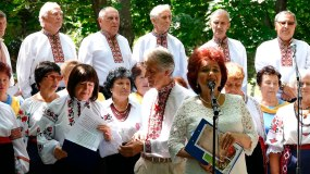 Ведущая концерта - Валентина Николаевна Лисаченко