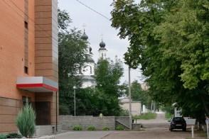 Вид от улицы Соборной