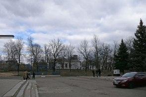 Площадь у ДМиП «Железнодорожник» Изюма