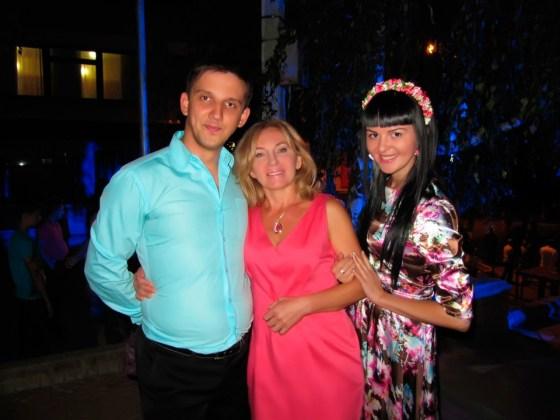 Максим Кондратьев, Елена Ивановна Яснова и Юлия Зушенская