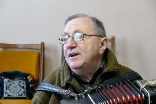 Художественный руководитель на репетиции хора «Криниченька»