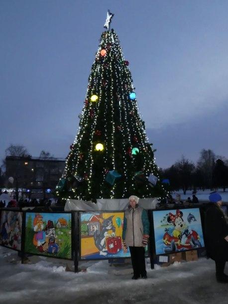 Архиерейская елка в Изюме 8 января 2017 года